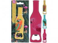 otvírák na lahve 14x3,7cm nerez - mix variant či barev
