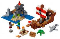 Lego Minecraft 21152 Dobrodružství pirátské lodi