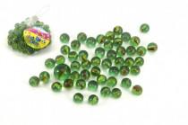 Kuličky cvrnkací skleněné cca 50ks 1,5cm