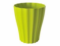 Plastia obal Ola - světle zelenkavá 16 cm