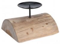 svícen 15x13x12cm teak. dřevo