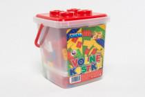 Stavebnice Cheva 22 Volné kostky plast - VÝPRODEJ