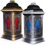 Svíčka sklo Lucerna kříž - 250 g (LWZ21713) - VÝPRODEJ