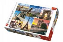 Puzzle Kouzlo Paříže koláž 3000 dílků 116x85cm