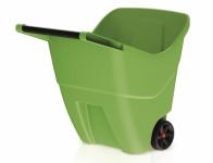 Vozík zahradní LOAD GO II plastový zelený 85l 79x57x72cm