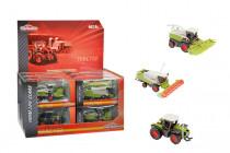 Majorette Zemědělské stroje CLAAS - mix variant či barev - VÝPRODEJ