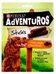 Adventuros snack dog - tyčinky s bizoní přích. 120 g