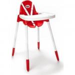Jídelní židlička Elegance červená - VÝPRODEJ