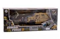Vojenská mega hrací sada Combat force - VÝPRODEJ