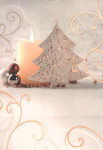 Dárková taška DAB-vánoční svíčka 32cm, DITIPO - VÝPRODEJ