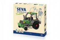 Stavebnice Seva Doprava Traktor plast 384 dílků