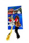 Hračka kočka Vánoční Myš 14-17cm plyš TR 1ks