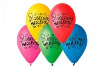 Balonek /Balonky nafukovací 10'' průměr 26cm Všechno nejlepší
