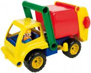 Auto popeláři s figurkou aktivní plast 29cm 24m+