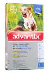 Advantix S.O. pes nad 25kg a.u.v. modrý sol 1 x 4 ml