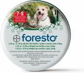 Foresto 1,25g+0,56g obojek pro kočky a psy do 8kg obojek 1ks 38 cm