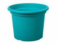 Květník GEO plastový modrý 20x15cm