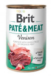 Brit Dog konz Paté & Meat Venison 400g