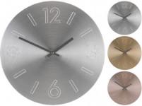 hodiny nástěnné pr.35cm Al - mix barev