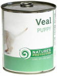 Nature's Protection Dog konz.Puppy telecí 400 g