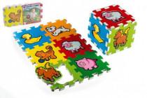 Pěnové puzzle Moje první zvířátka 6ks MPZ