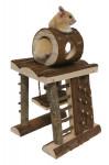 Hračka hlod. dřevo Prolézačka RW 17 x 17 x 26 cm