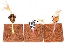 Hračka cat interaktivní DUVO+ myška na pružině