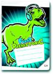 Sešit A5/524 Prehistoric Funny 20 listů linkovaný - VÝPRODEJ