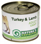 Nature's Protection Dog konz.Light Krůta/jehně 200 g