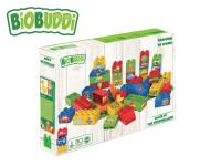 BiOBUDDi stavebnice Learning To Create Young Ones 39 ks + 1 ks základní deska