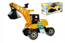 Bagr žlutočerný Giga Trucks plast 70cm