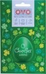 Set na vajíčka OVO SET barva, obtisky a košilky zelená - VÝPRODEJ