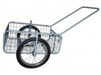 vozík PEGAS skládací, komaxit, 450x640x280(1320) mm, nosnost 100kg