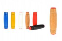 Fidget Tumbler dřevo 9cm antistresový váleček - mix barev