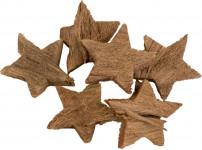 Dekorace - Kokosová hvězda 6 ks