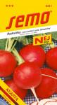Semo Ředkvička červená - Kvarta tetraploidní na pole i k rychlení 5g - série Nej - VÝPRODEJ