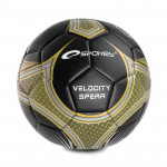 Spokey Velocity Spear fotbalový míč černo-zlatý č. 5