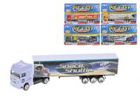 Kamion kontejnerový 20 cm 1:87 kov volný chod - mix variant či barev