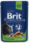 Brit Premium Cat kaps. -Chicken Slices for Steril. 100 g