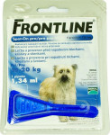 Frontline spot-on dog M a.u.v. sol 1 x 1,34 ml