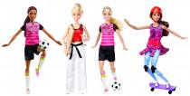 Barbie sportovkyně - mix variant či barev - VÝPRODEJ