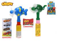 Cosby fén ovoce 21 cm s cukrovinkou a samolepkou - 9 ks - mix variant či barev