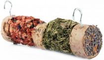 HamStake Březové krmítko s bylinkami a zeleninou 20cm