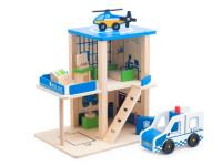 Dřevěná hračka POLICEJNÍ STANICE