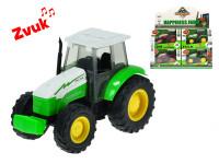 Traktor kov 14 cm 1:32 na setrvačník na baterie se zvukem - mix variant či barev