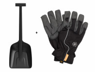 Set FISKARS SOLID lopata do auta 1019353 + zimní rukavice
