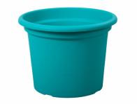 Květník GEO plastový modrý 25x19cm