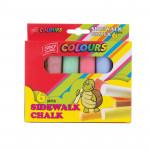 Easy Colours chodníkové křídy 6 ks/sada
