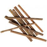 Hračka hlod. dřevo hlodací - dřevo kiwi, Flamingo 10 ks, 14,5 cm, 40 g