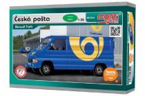 Stavebnice Monti 05.4 Česká pošta Renault Trafic 1:35